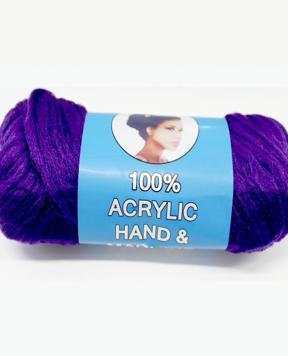Purple Brazilian wool hair